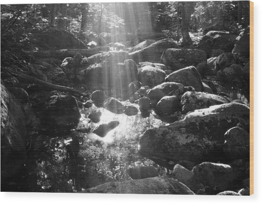 Adirondack Light Wood Print