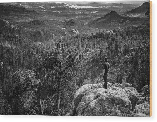 Needles Point South Dakota Wood Print