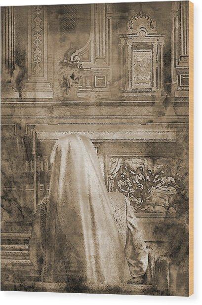 Adoration Chapel 2 Wood Print