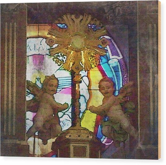Adoration Chapel 4 Wood Print