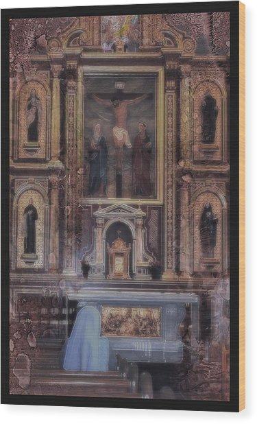 Adoration Chapel 5 Wood Print