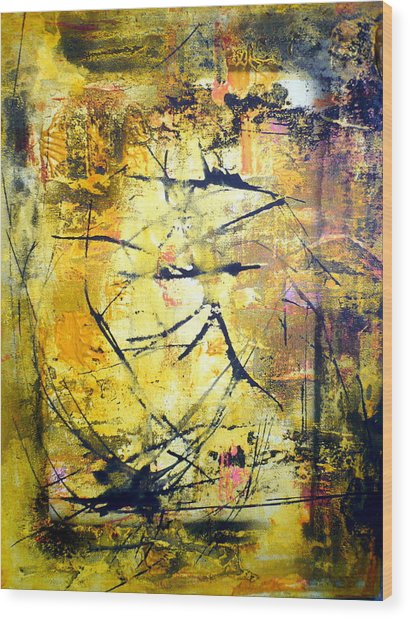 Aforethought Abstract Wood Print