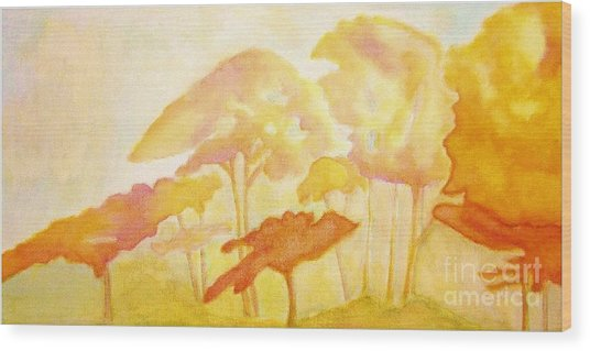 Africa Wood Print by Mimo Krouzian