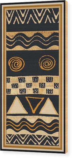African Memories Wood Print