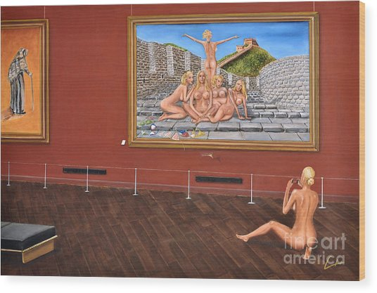 After Hours Op. 23 No. 7 Wood Print by CH Narrationism
