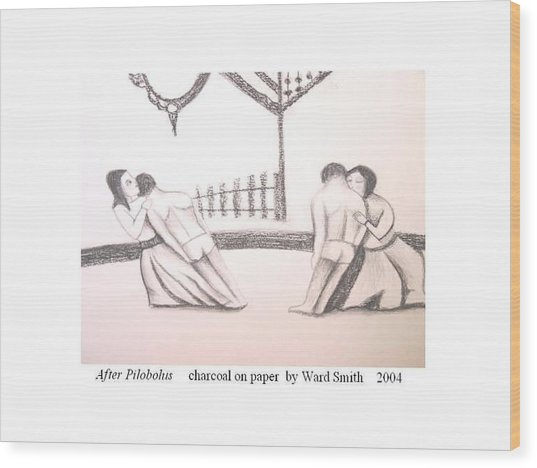 After Pilobolus Wood Print by Ward Smith