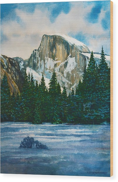 After The Snowfall, Yosemite Wood Print