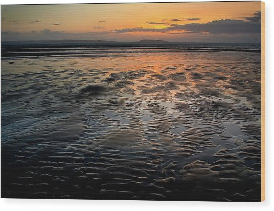 Afterglow At Penmaenmawr Wood Print