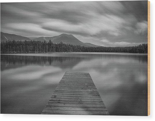 Afternoon At Daciey Pond Wood Print