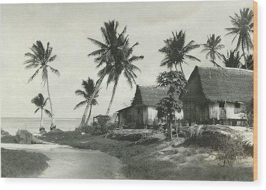 Agana River Wood Print