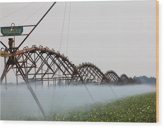 Agriculture - Irrigation 3 Wood Print