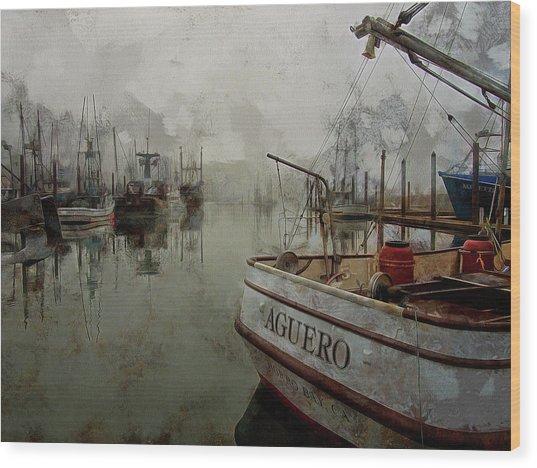 Aguero Wood Print