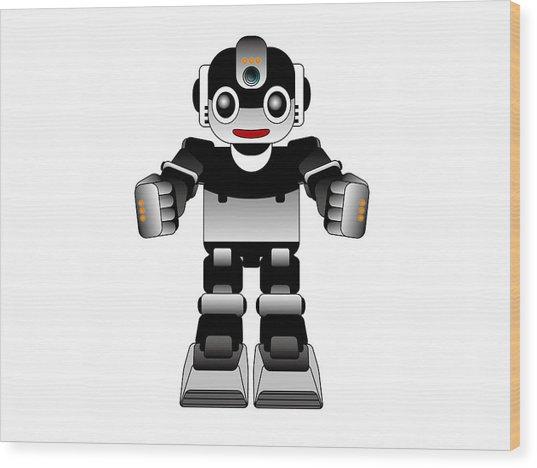 Ai Robot Wood Print