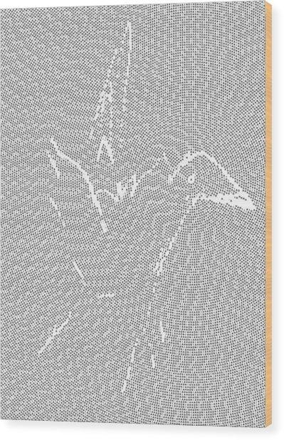 Aibird Wood Print