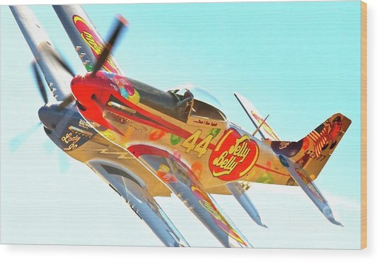 Air Racing Reno Style Wood Print