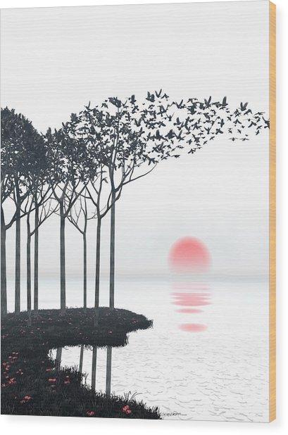 Aki Wood Print