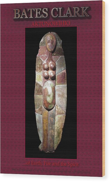 Aktunowihio Wood Print
