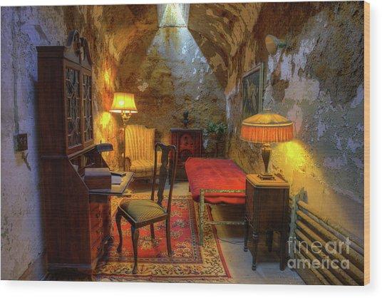 Al Capones Jail Cell Wood Print