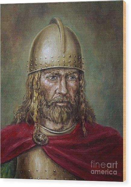 Alaric The Visigoth Wood Print
