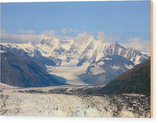Alaska  Americas Final Frontier Wood Print by Robert Joseph