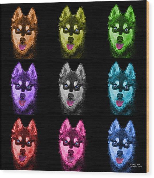 Alaskan Klee Kai - 6029 -bb - M Wood Print