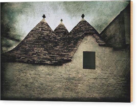 Alberobello - Trulli Wood Print