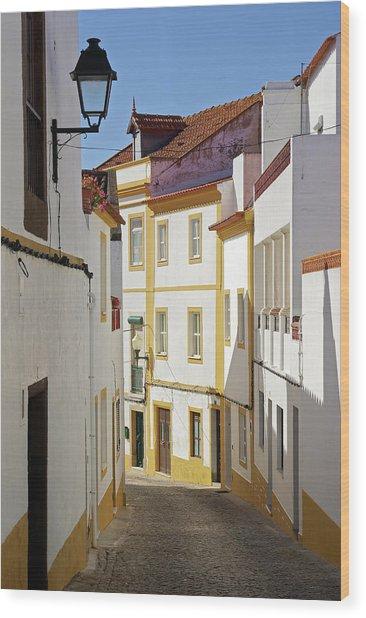 Alentejo Street Wood Print