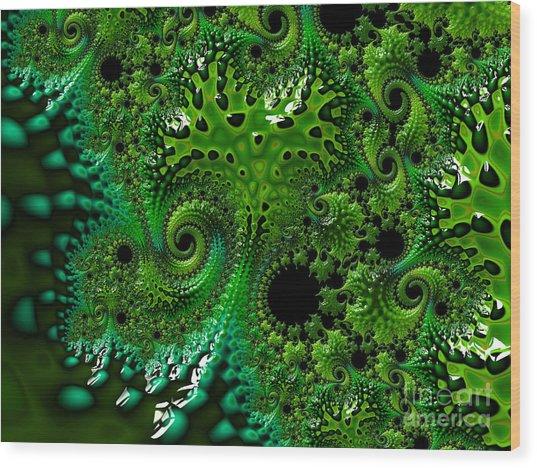 Algae Wood Print