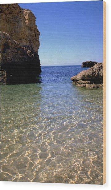 Algarve I Wood Print