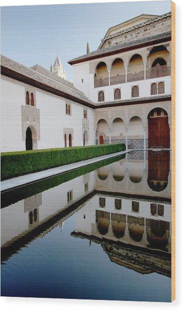 Alhambra Wood Print by Jason Hochman