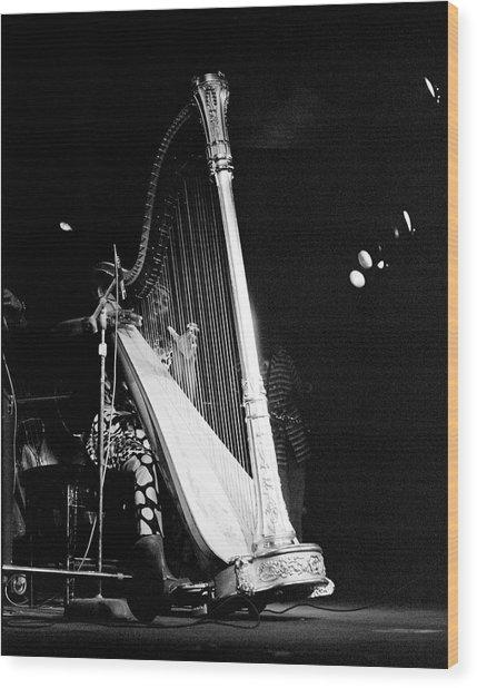 Alice Coltrane 2 Wood Print