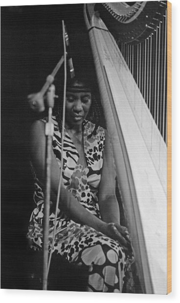 Alice Coltrane Wood Print