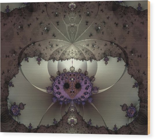 Alien Exotica Wood Print