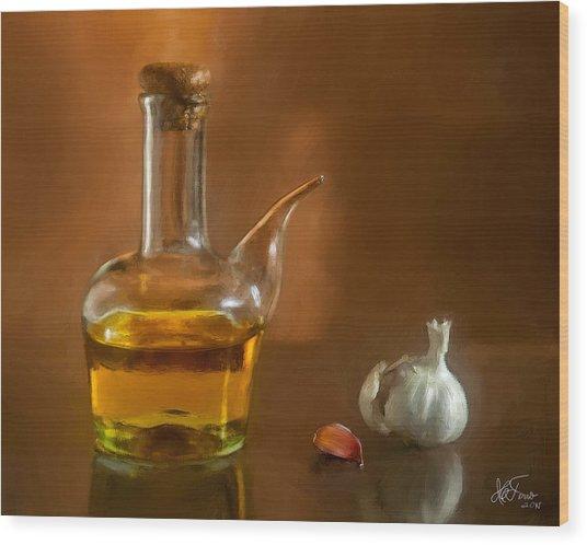 Alioli Wood Print