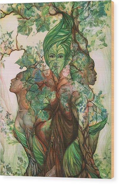 Living Tree Wood Print