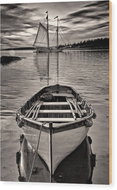 All Ashore Wood Print