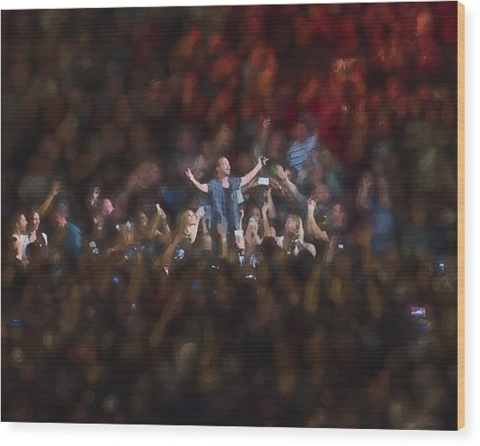 All Hail Eddie Vedder Wood Print