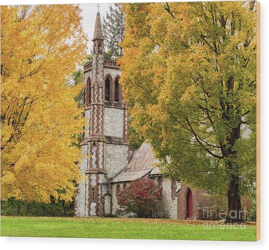 All Saints Church Wood Print