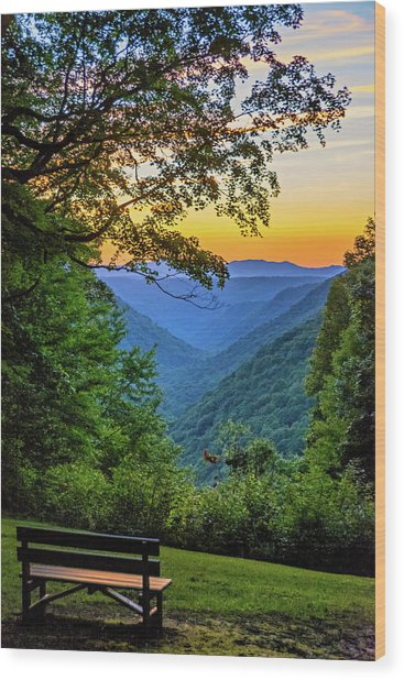 Almost Heaven - West Virginia 3 Wood Print