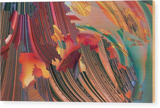 Aloha No.2 Wood Print