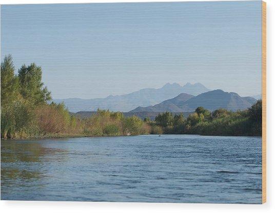 Along The Verde River 10 Wood Print by Susan Heller