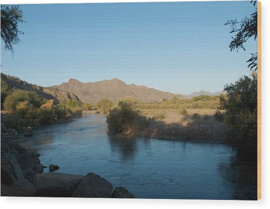 Along The Verde River 4 Wood Print by Susan Heller