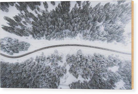 Alps Vibes Wood Print