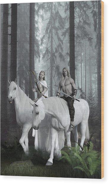 Alver Wood Print