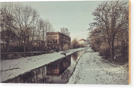 Am Zorge-ufer Wood Print