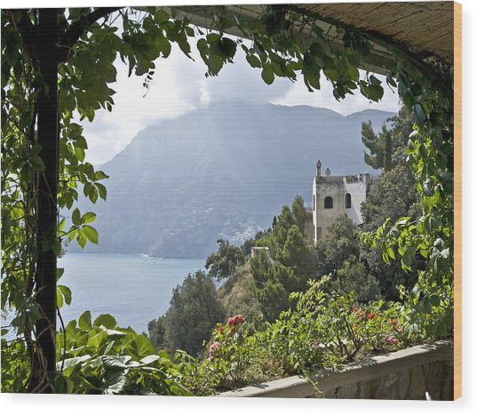 Amalfi Coast Wood Print by JR Harke Photography