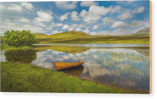 Amazing Scotland Wood Print