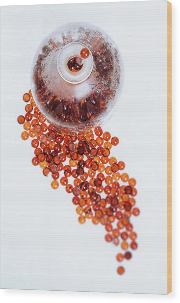Amber #0664 Wood Print