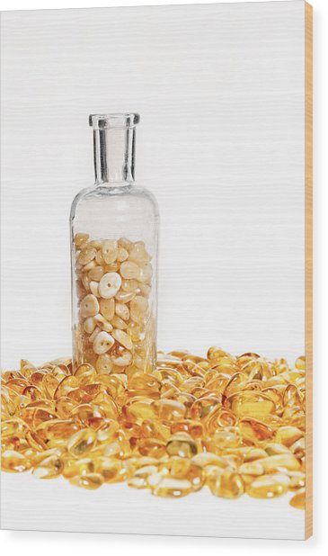 Amber #7900 Wood Print