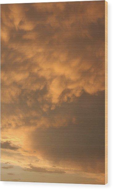 Amber Twilight Wood Print by Jonathan Kotinek